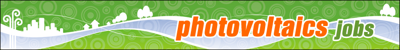 Photovoltaics Jobs