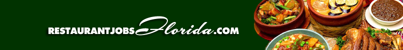 Restaurant Jobs Florida